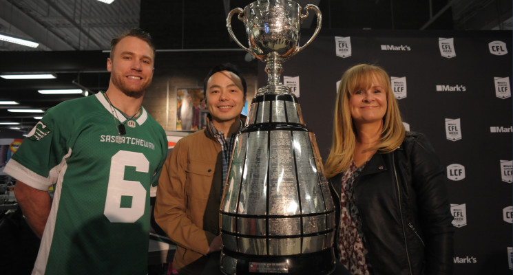 Mark's and CFL team up to deliver CFL stars, top prospects, fan fest and more