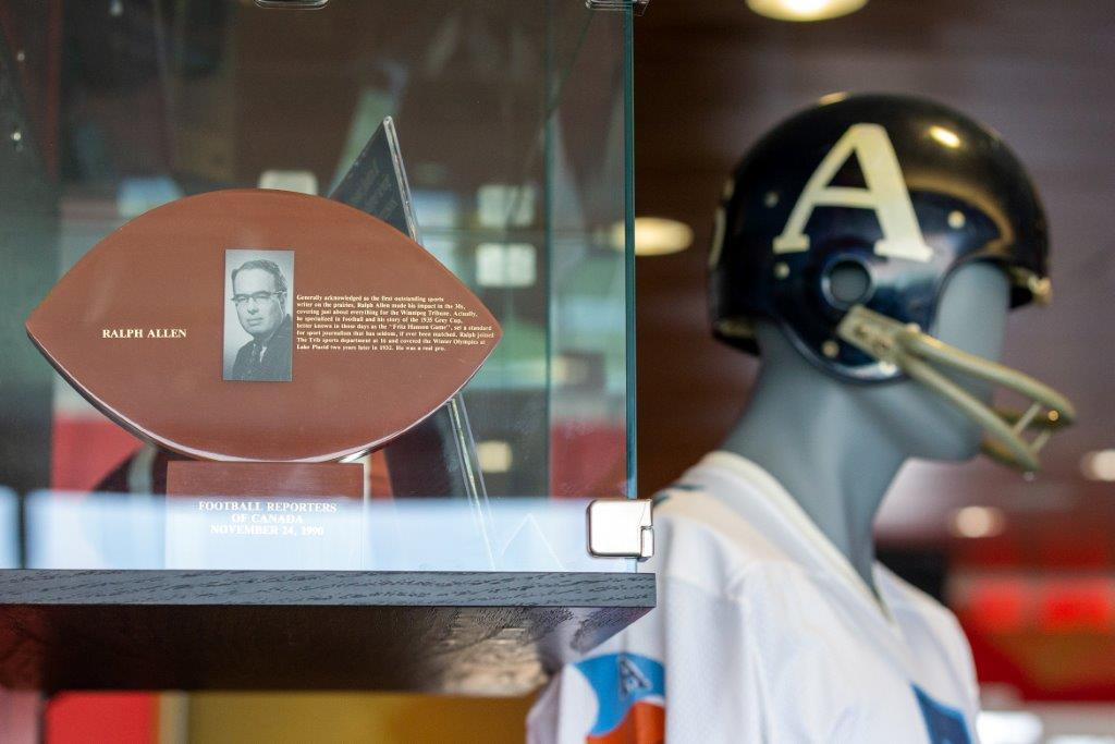 CFHOF and museum now open at Tim Hortons Field