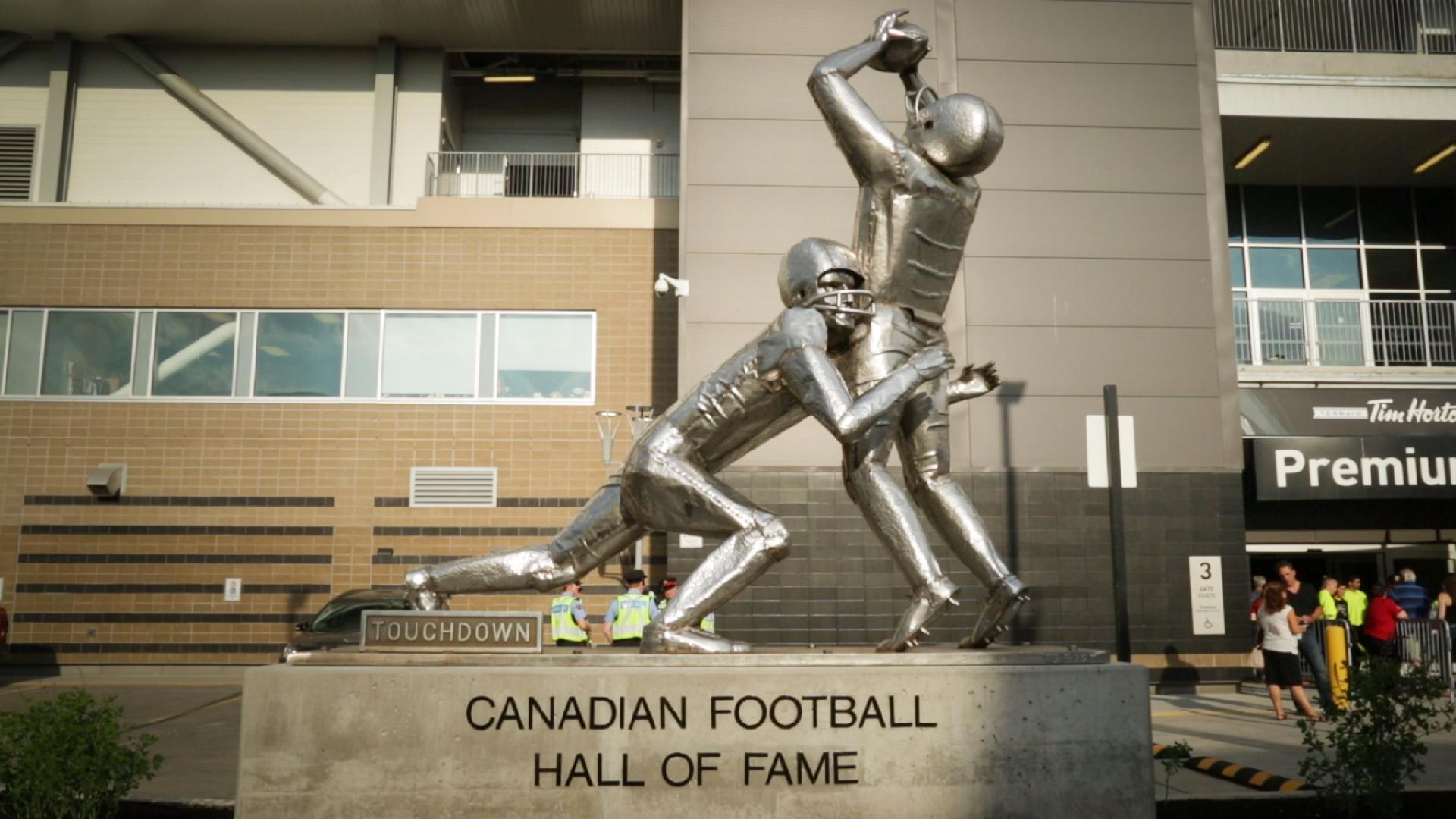 Grand Unveiling: Canadian Football Hall of Fame opens at Tim Hortons Field