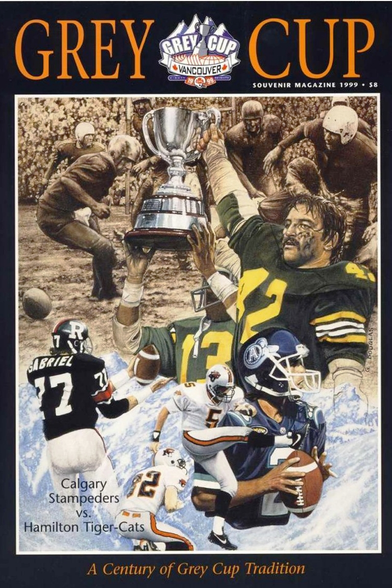 The Grey Cup wasn't what it is today